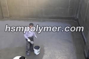 آب بندی کف استخر با مواد پلیمری