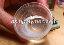 حباب در رزین اپوکسی شفاف